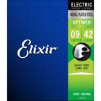Elixir Optiweb 19002 Super Light 9-42 struny do gitary elektrycznej