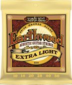 Ernie Ball Earthwood EXTRA LIGHT (struny do gitary akustycznej) 2006