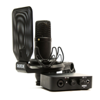 RODE NT1 + AI-1 Zestaw MIKROFON + INTERFACE, UCHWYT, kabel XLR i USB / Bundle