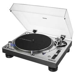 Audio-Technica AT-LP140XP Silver + POKRYWA i Wkładka z igłą AT-XP3