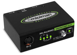 M-AUDIO MIDISPORT 2x2 - interfejs midi