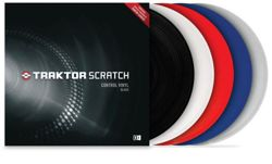 Native Instruments Traktor Scratch Control Vinyl MKII - RED